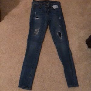 Aeropostale high waisted jeans-jegging
